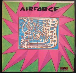 Ginger Baker Airforce Diff Cover OG Israel LP Cream