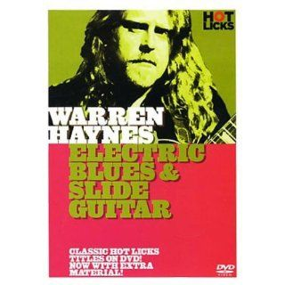 Hot Licks Warren Haynes Electric Blues and Slide Guitar DVD HOT182