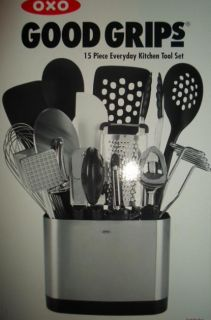 OXO Good Grips 15 Piece Everyday Kitchen Tool Set