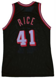 Glen Rice Miami Heat Vintage Original 90s NBA Jersey 48