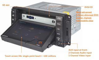 Caliber in Dash DVD GPS Navigation Radio Deck Stereo BT  CD