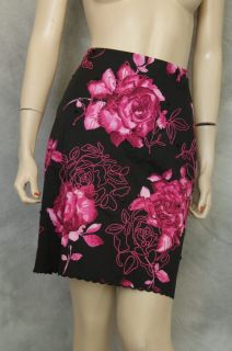 New Grace Elements Embroidered Skirt Size 6P Stretch