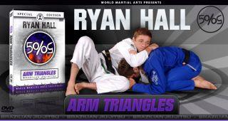 New Ryan Hall Brazilian Jiu Jitsu DVDs Arm Triangles New Release for