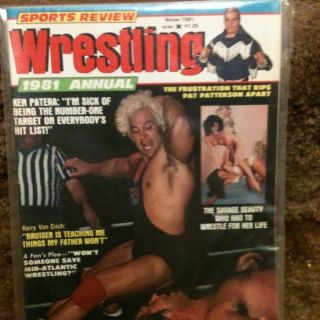 Wrestling Magazine Winter 1981 Ken Patera Womens Apartment Girls