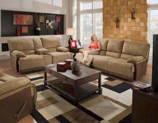 Clayton Power Reclining Sofa, Loveseat, and Glider Recliner 3 Piece