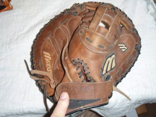 Mizuno Gloves Catchers Mitt and A Fielders Glove with A Bonus Wilson