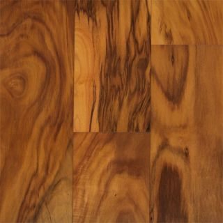 Hand Scraped Natural Acacia Hardwood Flooring Wood Floor