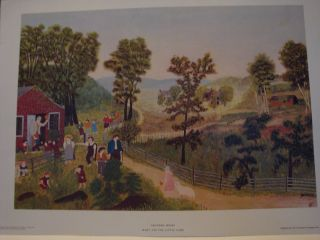 Grandma Moses Mary and The Little Lamb 1948