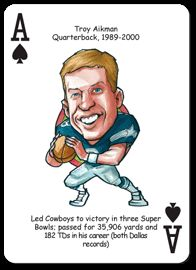 Dallas Cowboys NFL Football Playing Poker Cards Fans Hero Decks
