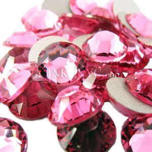 Ss16 Rose Swarovski Crystal Flatback SS 16 Rhinestones
