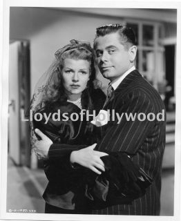 Glenn Ford Rita Hayworth Gilda Wedding Day Movie Scene Photograph 1945