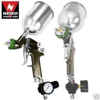 5mm HVLP Gravity Feed Spray Gun Air Painting Coat PRO Compressor