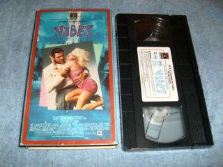 Vibes VHS 1988 Jeff Goldblum Cyndi Lauper