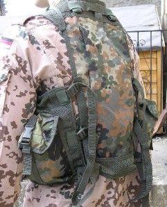 German Army Flecktarn Tactical Assault Vest