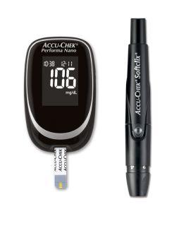 Accu Chek Performa Nano Blood Glucose Monitor Multiclix Pen Diabetes