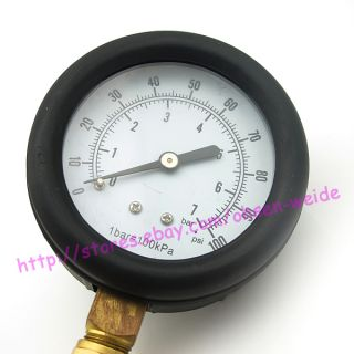 Fuel Injection Pump Pressure Gauge Tester Tuner Gasoline Test Tools