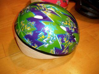 Bike Helmet Children Green Color
