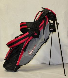 New Nike Sunday Golf Bag Red