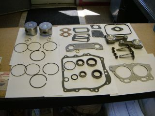 EZ Go Golf Cart Engine Rebuild Kit Gaskets 295cc Robins Engine 1991