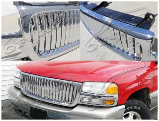 GMC Sierra LD Pickup Chrome ABS Vertical Grill Grille
