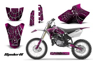 Yamaha YZ85 2 Stroke 2002 2012 Graphics Kit Decals Spiderx SXP