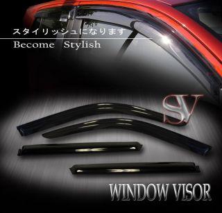 Visors Wind Deflector Shade 07 10 Chevy Suburban GMC Yukon XL