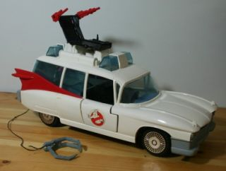Ghostbusters Ecto 1 w Top Chair Claw Stickers Ambulance Hearse Car 80s