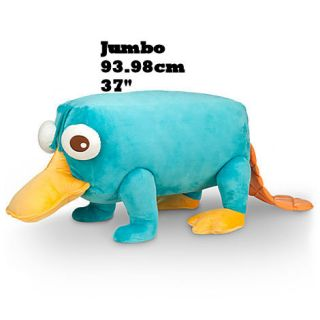 37 Jumbo Giant Huge  Phineas Ferb Perry Plush Stuffed