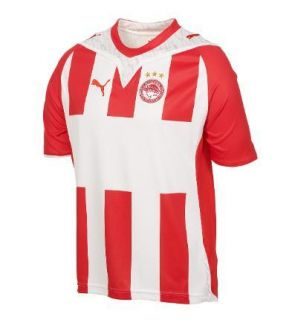 NWT Puma Olympiacos Olympiakos Greece Football Soccer Jersey Shirt