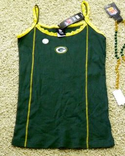 Green Bay Packers Ladies Camisole Top Panties Available Too Sexy $25