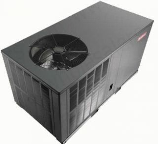 GPC1324H41   Goodman 2 Ton 13 SEER Horizontal Air Conditioner Package