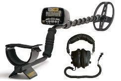 New Garrett at Gold Metal Detector Headphones Treasure Hunters Package