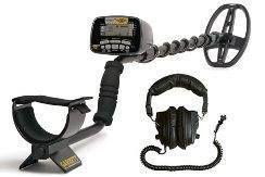New Garrett at Gold Metal Detector Headphones Treasure Hunters Package
