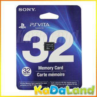 New Official Sony PSVita 32GB Memory Card 32 GB 32G PS Vita