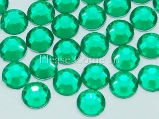 000 to 10 000 5mm Flat Back Round Rhinestones Crystal Gem Scrapbook