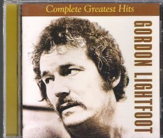 Music CD Gordon Lightfoot Complete Greatest Hits 2002 EMI Records Mint