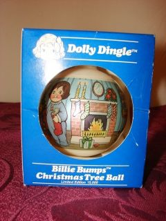 Dolly Dingle Billie Bumps Christmas Tree Ball in Box