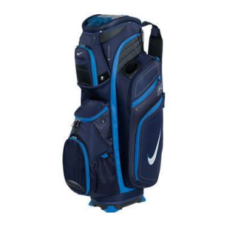 New Nike M9 II Cart Golf Bag Blackened Blue White Photo Blue
