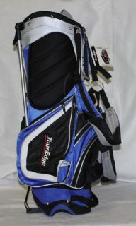 New Tour Edge Geo Max Golf Stand Bag Blue Balck Grey