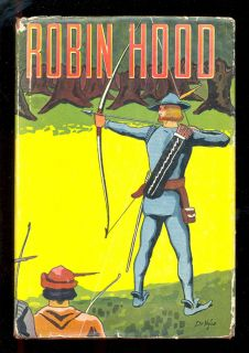 Robin Hood Men of Greenwood 1930's Goldsmith DeVille Cover F3254