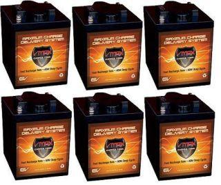 Golf Cart 6 Volt Maint Free AGM Batteries Trojan T105 Replacement