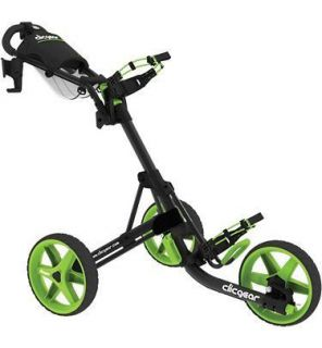 New Clicgear 3 Wheel Golf Cart Model 3 0 Charcoal Lime