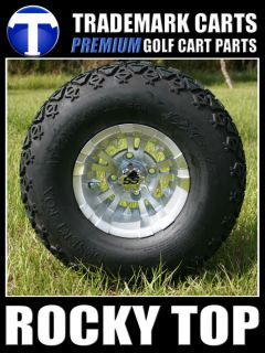 10x7 Vampire Golf Cart Wheels and All Terrain Tires