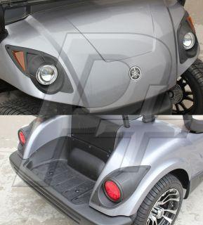 Yamaha Drive Golf Cart Headlight and Tail Light Kit with Hardware