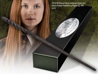 Harry Potter Ginny Weasley Wand Noble Collection New