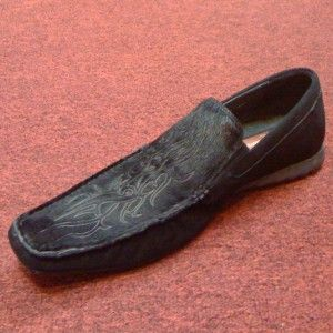 Giovanni Marquez 9 Huesca Driving Shoe Pony Black