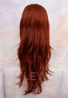 Marvel x Men Jean Grey Red Costume Cosplay Wig Wigs