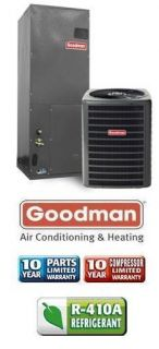 Ton 13 SEER Goodman Central Air Conditioning System GSX130481