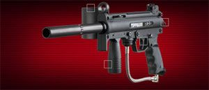 with Eletronic Trigger Tank Extended Barrel Extened Hopper Kit