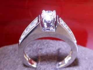 Zales Certified 1 CTW Round Brilliant Cut Diamond 14k White Gold